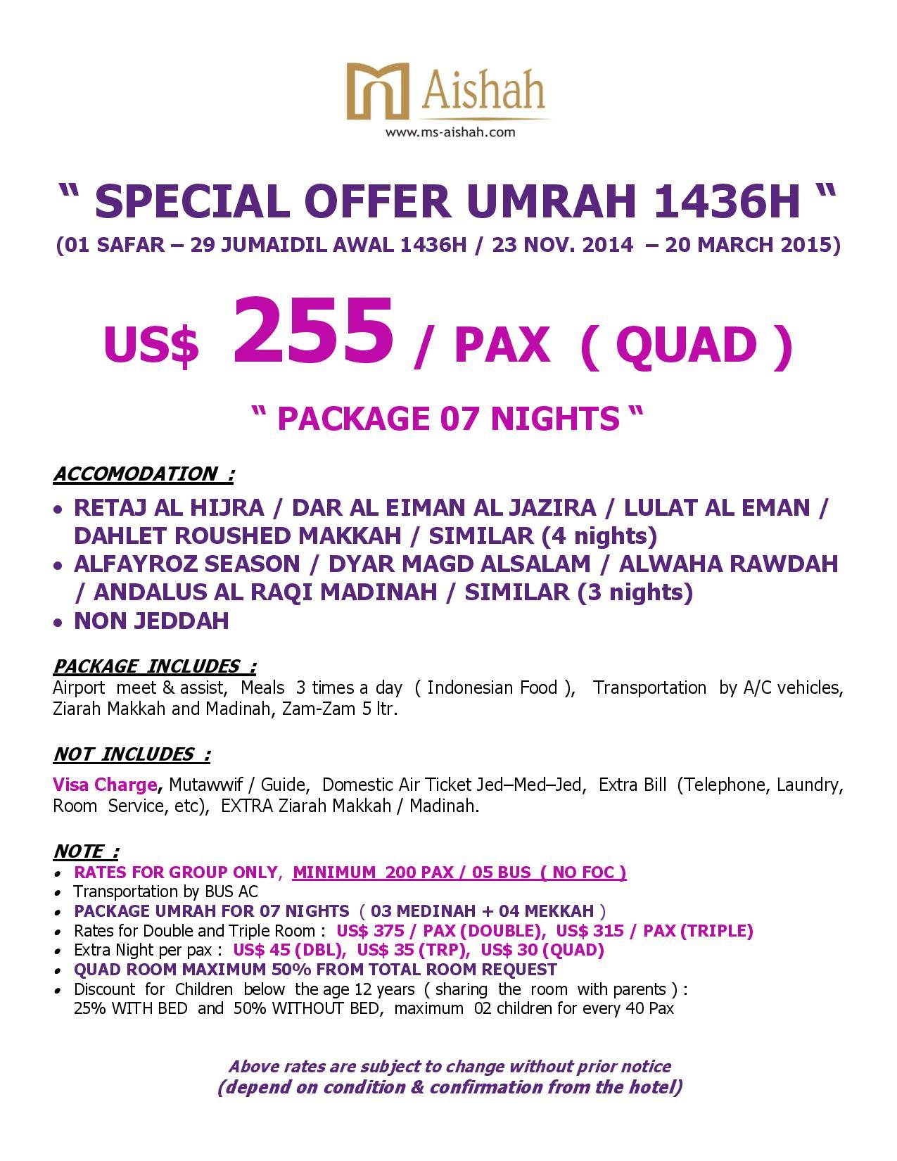 Paket Umroh Season 1